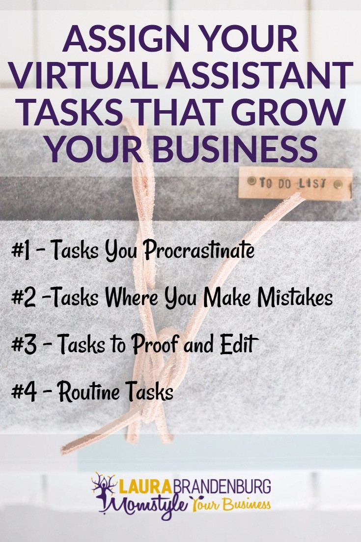 assign your VA tasks that grow your business